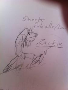 2005 Drawing by Caleb